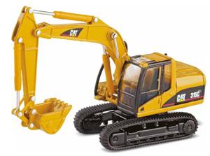 Caterpillar 315C Hydraulic Excavator 1:87 Die-Cast Replica - 55107