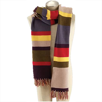 Doctor Who 4th Doctor Tom Baker 12 ft Scarf