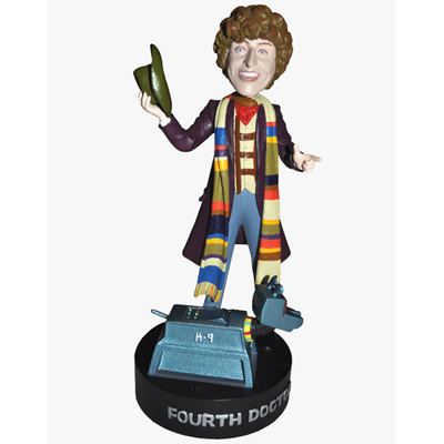 *NEW* 4th Doctor Who & K9 with Light Up Eyes - Tom Baker - Bobblehead