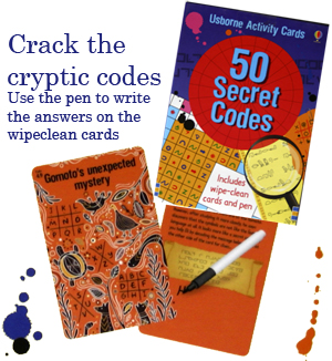50 Secret Codes - by Usborne