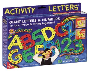 Activity Letters and Numbers 40 pcs