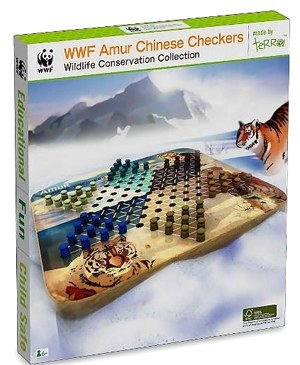 WWF Amur Chinese Checkers - Wooden