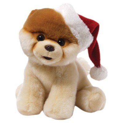 Gund Christmas Plush Dog - Boo - 23cm