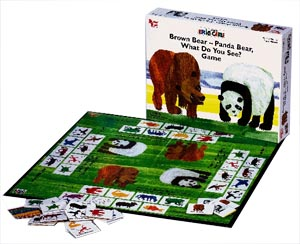 Brown Bear - Panda Bear - Eric Carle