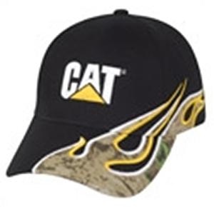 CAT Camo Flames Cap