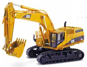 Caterpillar 365B L Series II Hydraulic Excavator 1:50 Die-Cast Replica - 55058V