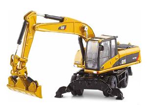 Caterpillar M318D Wheel Excavator 1:87 Die-Cast Replica - 55117