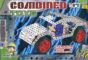 Metal Construction Kit -car