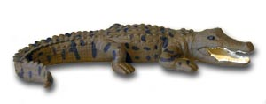 Saltwater Crocodile Replica Large 15cm, Small 7cm