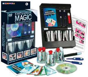 Exclusive Magic Cups and Balls Set