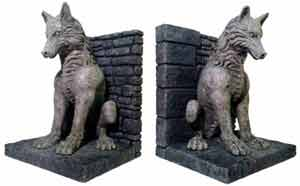 Game of Thrones 'Dire Wolf' Bookends