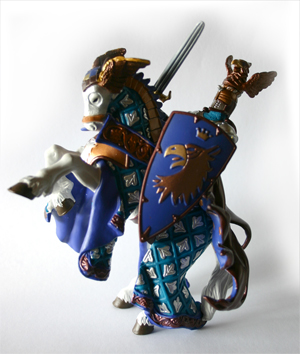 Papo Eagle Knight and Horse