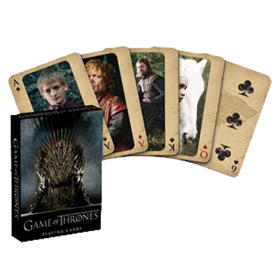 Game of Thrones Themed Playing Cards