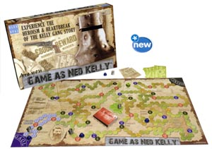 Game as Ned Kelly board game
