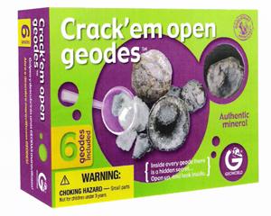 Crack'em Open Geodes