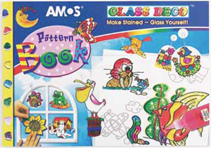 Amos Glass Deco Pattern Book 82 pages