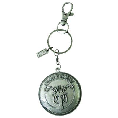 Game of Thrones Greyjoy Shield Keychain Fob