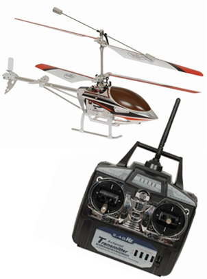 Digitech GT-3340 2.4GHz Gyro Stabilised Helicopter - 36cm
