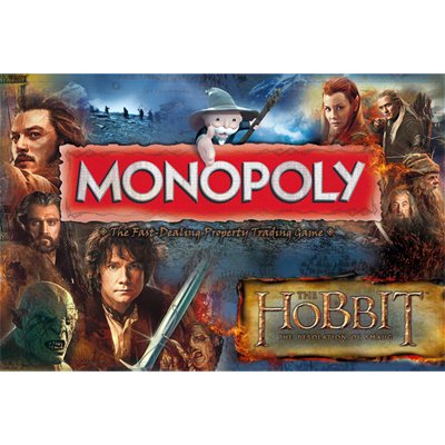 Monopoly - Lord of The Rings The Desolation Of Smaug Edition