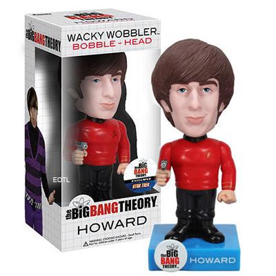 Big Bang Theory Howard Star Trek Bobble Head