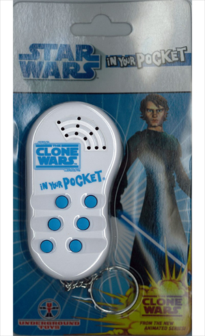 Star Wars - Blue and White In Your Pocket Keychain