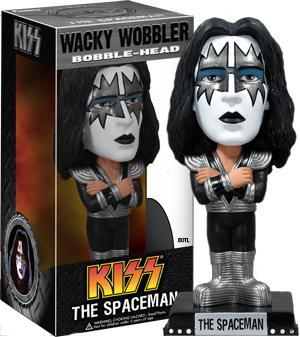 Kiss Ace Frehley - The Spaceman Wacky Wobbler - Bobble Head