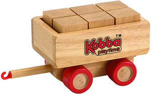 Kobba Playtime Block Carriage - Wooden