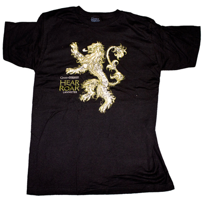 Game of Thrones Lannister House Tee Shirt