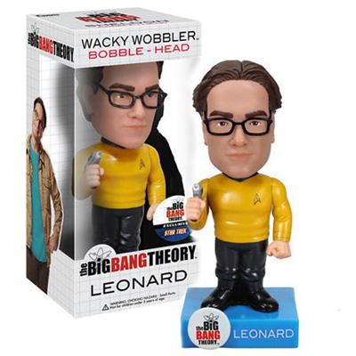 Big Bang Theory - Leonard Star Trek Bobble Head