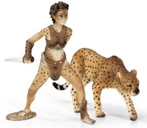 Schleich - Bayala Liassa and Cheetah - 70442