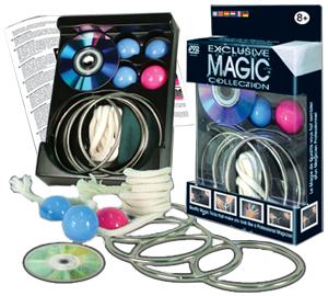 Exclusive Magic Linking Rings Set
