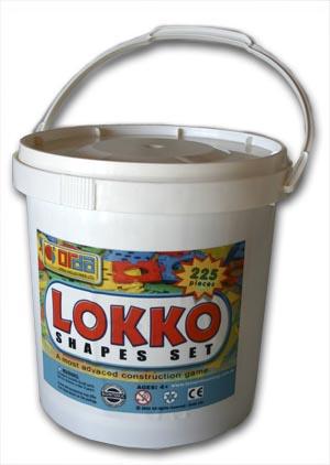 Lokko Shapes Set 225 pcs.