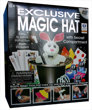 Exclusive Magic Hat Set (2011) with DVD