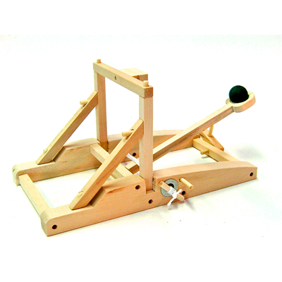 Medieval Catapult Wooden Construction Kit