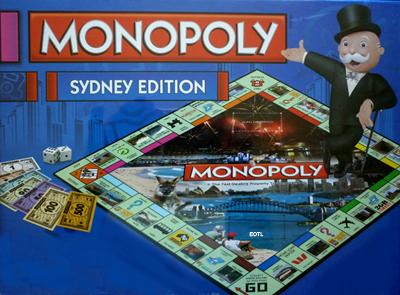 Monopoly Sydney Edition Australia