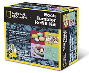 National Geographic Rock Tumbler Refill Pack