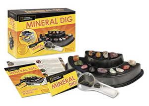 National Geographic Mineral Dig Kit
