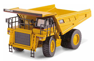 Caterpillar 777D Off Highway Truck 1:50 Die-Cast Replica -55104