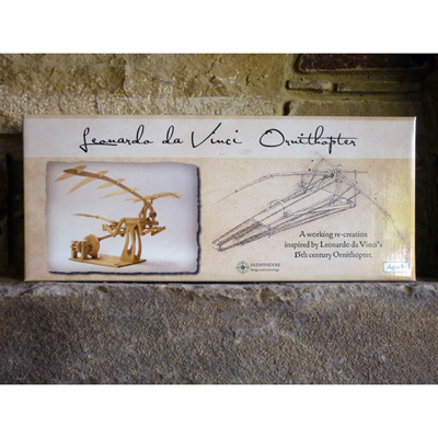 Leonardo Da Vinci Ornithopter Wooden Construction Kit