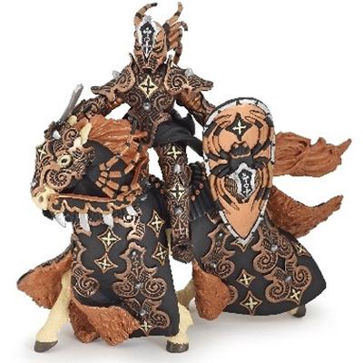 PAPO 38984 Dark Spider Warrior Knight with Horse