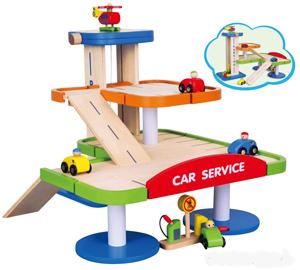 Parking Garage Timber