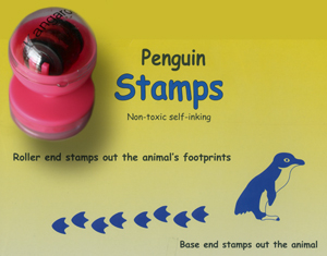 Penguin Animal Stamps