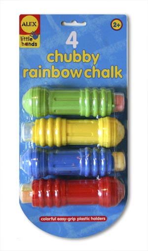 Little Hands Rainbow Chalk