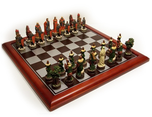 Veronese Feature Robin Hood Chess Pieces