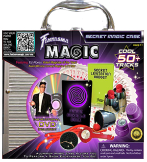 Secret Magic Case with DVD