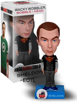Big Bang Theory - Sheldon Superman Bobble Head
