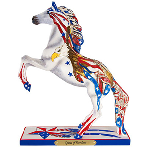 """Trail of the Painted Ponies - """"Spirit of Freedom"""" Figurine 21.5cm"""