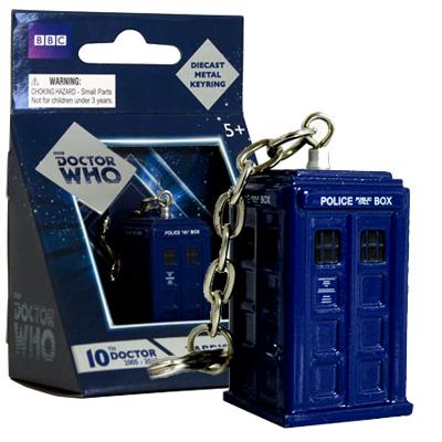 Doctor Who TARDIS Diecast Metal Keychain