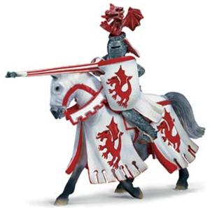 Schleich - Tournament Knight - Dragon on Horseback - 70046