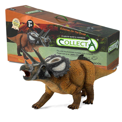 CollectA 89450 / 88559 Triceratops Dinosaur Model Deluxe 1:15 Scale